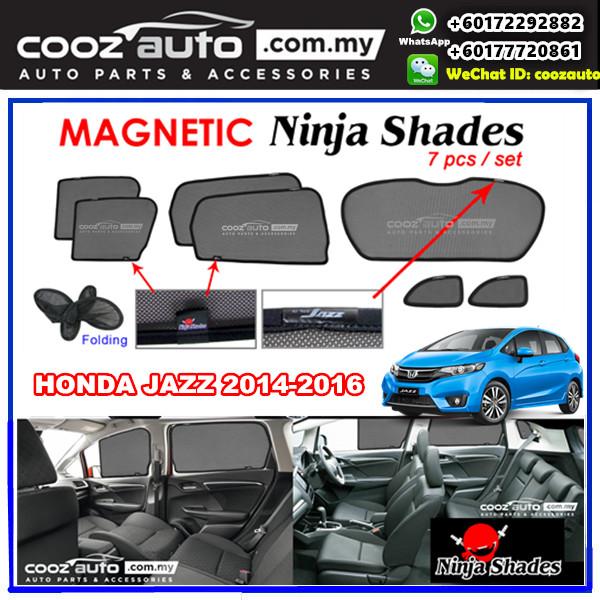 Honda JAZZ 2015-2017 Magnetic Ninja Sun Shade Sunshade