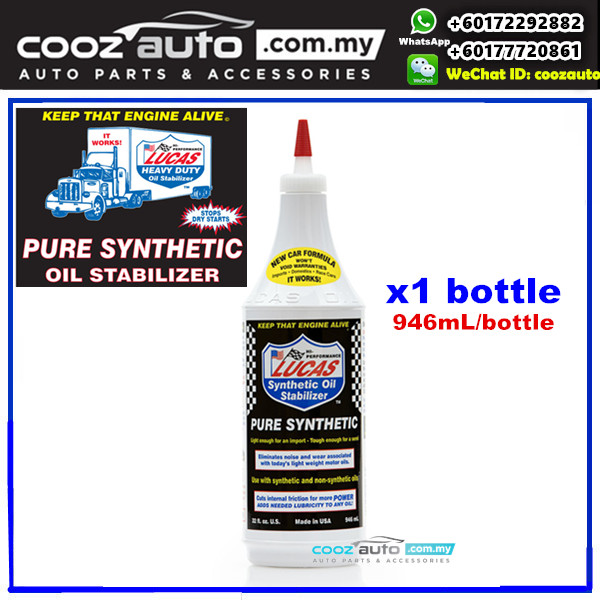 Cooz auto performance for Pure synthetic motor oil