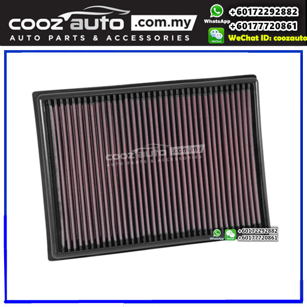 TOYOTA PRADO 4.0 V6 2010-2016 K&N High Performance Stock Replacement Washable Air Filter