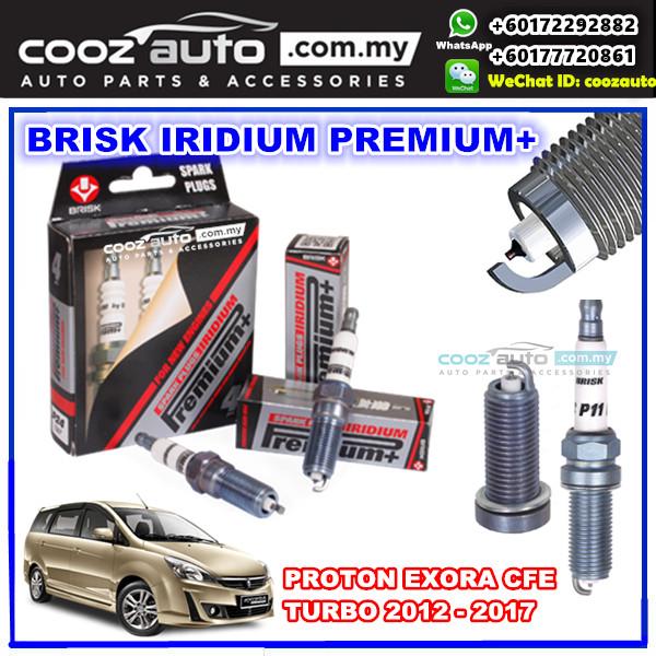 Proton Exora Preve Suprima CFE Turbo 2012-2017 Brisk Racing Iridium Premium+ Spark Plug