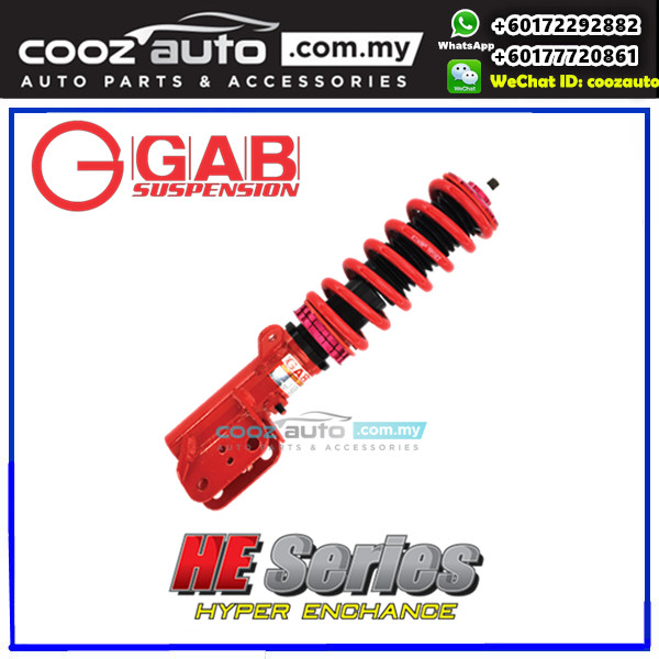Mitsubishi Lancer GT Cy4A 07- GAB HE Series Body Shift Height High Low Adjustable Suspension