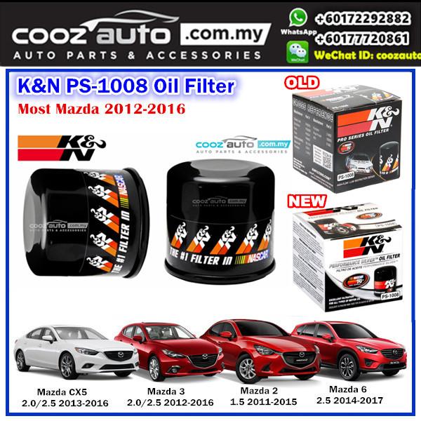 Mazda CX - 5 CX5 2.0 2013 - 2017 K&N PS-1008 Pro Series Oil Filter