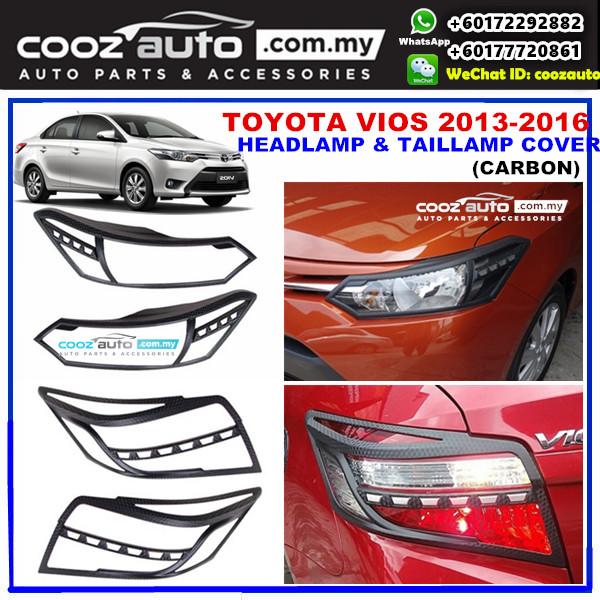 TOYOTA VIOS 2013-2016 HeadLamp & TailLamap Head & Tail Lamp Cover