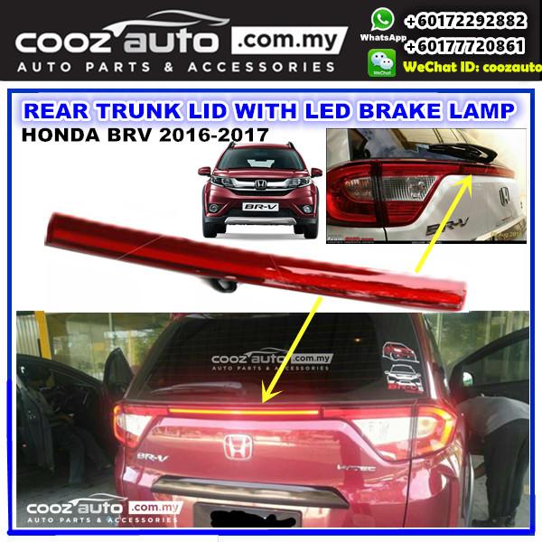 Honda BRV BR-V 2016-2018  Rear Trunk Lid with LED Reflector Brake Lamp