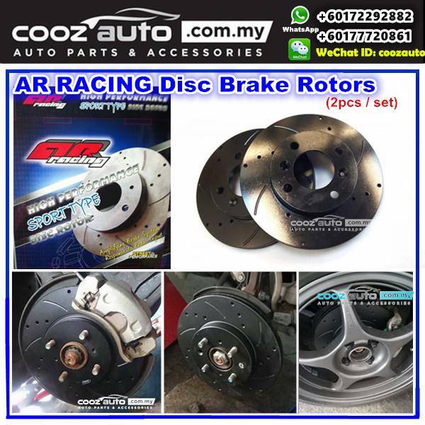 Toyota Hilux Vigo KUN25R KUN26R 2005-2015 (317MM) - FRONT AR Racing Performance Disc Brake Rotor