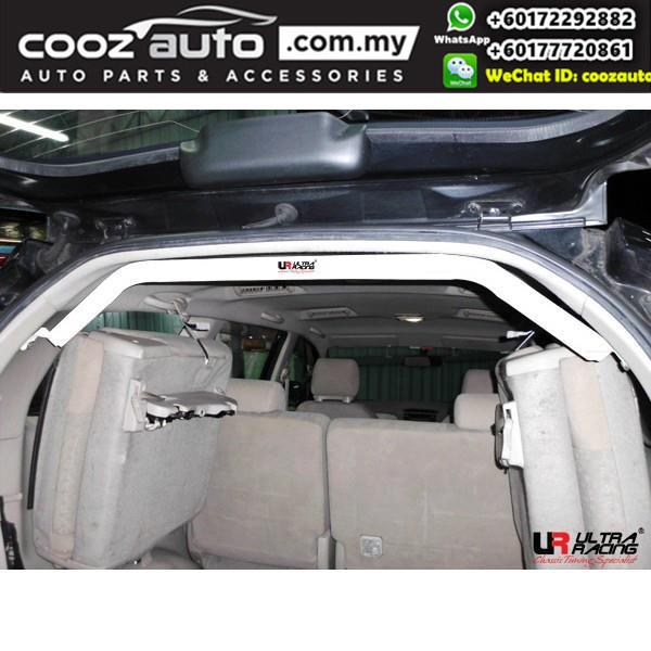 Toyota Innova (G) 2.0 2009 Ultra Racing Rear Upper Bar / Rear Upper Brace / C Pillar Bar (2 Points)