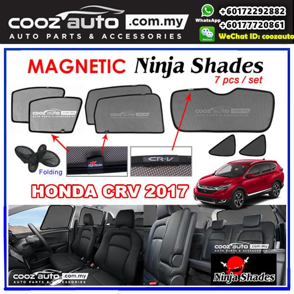 Honda CRV CR-V 2017 Magnetic Ninja Sun Shade Sunshade