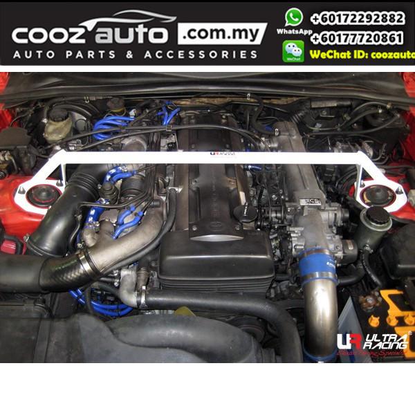 Toyota Supra JZA 80 Ultra Racing Front Strut Bar / Front Tower Bar (2 Points)