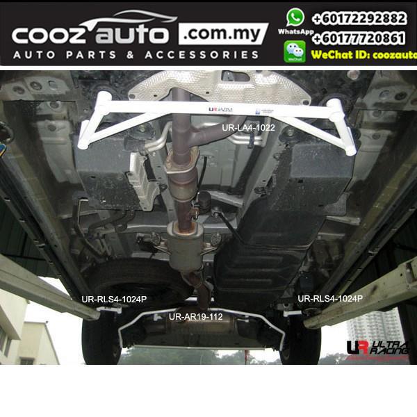 Toyota Estima Acr50 / XR50 3.5 (19mm) Ultra Racing Rear Anti-roll Bar / Rear Sway Bar / Rear Stabilizer Bar