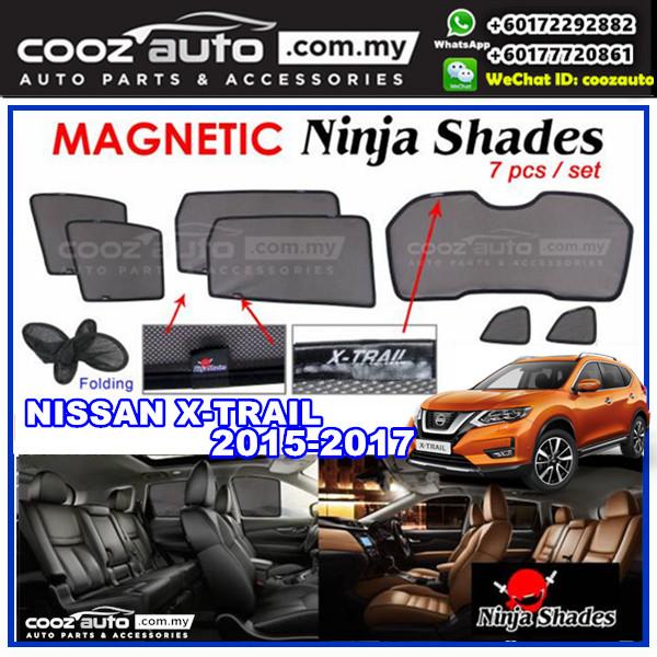 Nissan X-TRAIL XTRAIL 2015 - 2017 Magnetic Ninja Sun Shade Sunshade