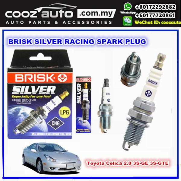 Toyota Celica 2.0 3S-GE 3S-GTE Brisk Silver Racing Spark Plug