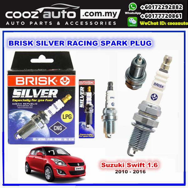 Suzuki Swift 1.6 2010 - 2016 Brisk Silver Racing Spark Plug