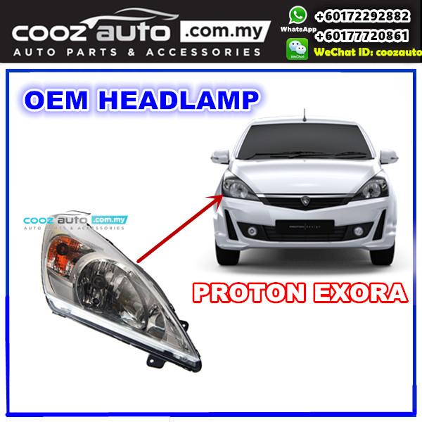 Proton Exora Front Left & Right Both Side HeadLight HeadLamp Head Lamp Lampu